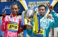 Ethiopians catching up at the Boston Marathon