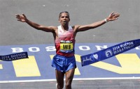 Boston Marathon: Jeptoo sets new course record, Keflezighi is first American winner since 1983
