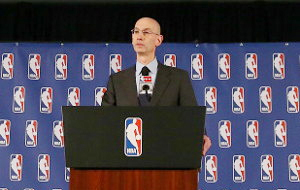 NBA Commissioner Adam Silver (Photo: Gallo Images)