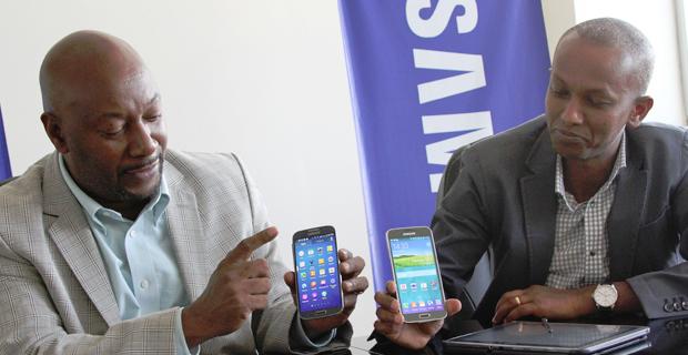 Robert Ngeru (left) and Tadios Awol
