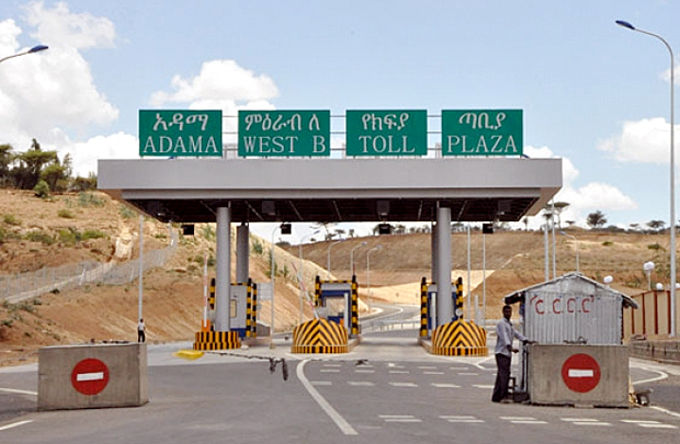 Ethiopia's first toll road to be inaugurated on Monday