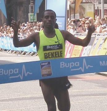 Kenenisa Great Manchester Run