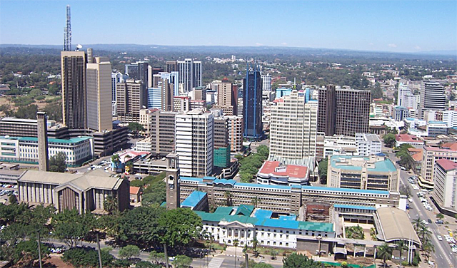 Nairobi, Kenya's capital city  -