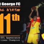 St. George FC wins Ethiopian Premier League title