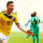 Colombia edge Ivory Coast in nail-biter