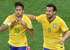 Neymar and Fred