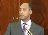 Prince Ermias Sahle Selassie Speaks at the DuSable Museum in Chicago