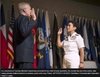 US Navy gets first four star female Admiral