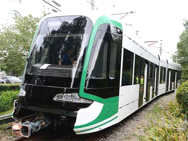CNR Changchun Tram