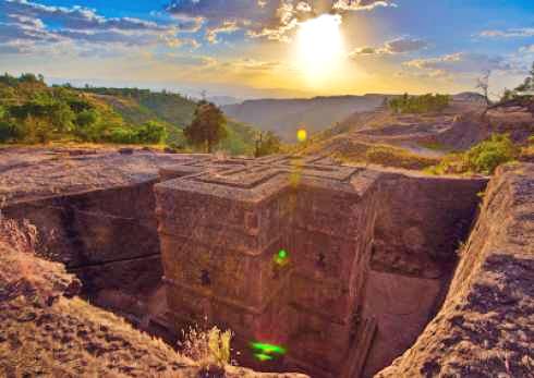 Lalibela Beautiful Place
