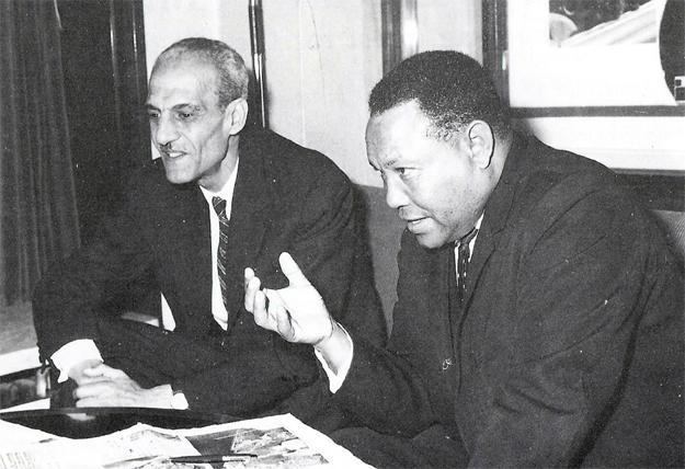 Yidnekachew Tessema CAF President -