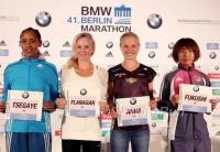 Berlin Marathon's Top Women Aim to go below 2:20