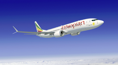 Ethiopian Airlines Announce Order for 20 Boeing 737 MAX 8s