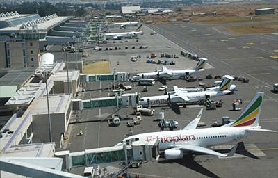 Ethiopian Bole Airport