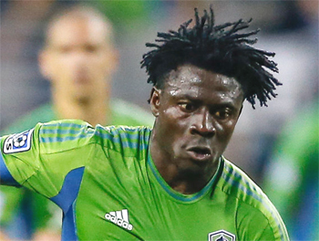 MLS: Obafemi Martins breaks Seattle scoring record to take them back to top