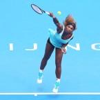 China Open: Serena powers through her opener
