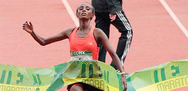 Shewarge Amare Alene of Ethiopia (Photo: EFE) -