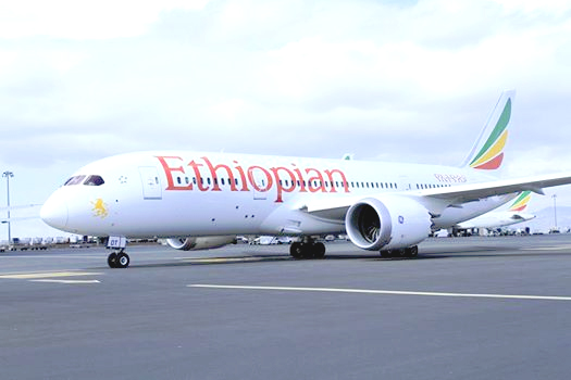 Ethiopian Airlines Receives its 10th B787 Dreamliner