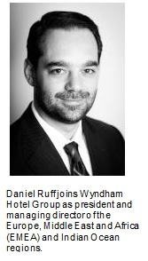 Wyndham Hotel Group Appoints Daniel Ruff to Lead EMEA and Indian Ocean Regions