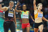 The 2014 IAAF world Athlete of the Year Women's Finalists (Photo: Getty Images)