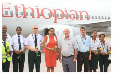 Ethiopian Airlines flies back to Seychelles
