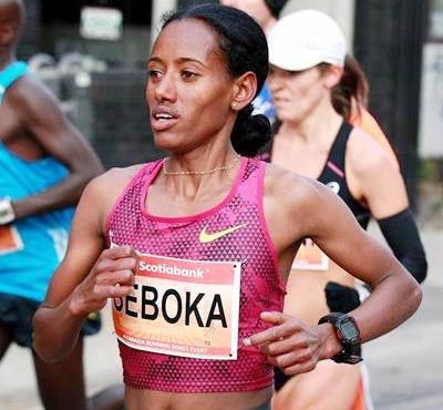 Mulu Seboka wins Toronto Marathon
