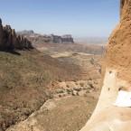 A leap of faith! Ethiopia's 'church in the sky'