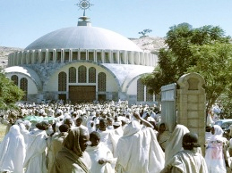Festivity in Axum Tsion serves as tourist attraction