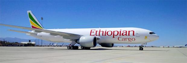 Ethiopian Boeing 777 Freighter