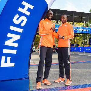 Wilson Kipsang and Geoffrey Mutai © Gallo Images -