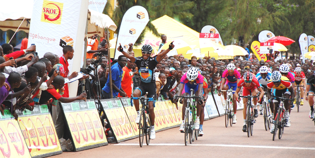 Mekseb Debesay Eritrean Mekseb Debesay claims Stage 1 of Tour of Rwanda Ethiosports