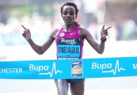 Tirunesh Dibaba (Photo: Great Run/Dan Vernon)