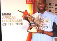 Yaya Toure BBC Award