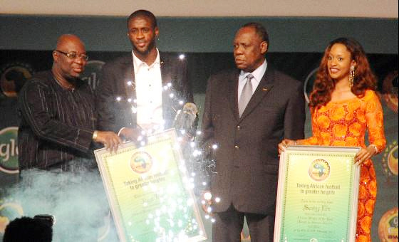 Yaya Toure, last year winner (Photo: CAFonline.com) -