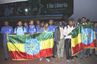 Ethiopian health workers arrive at Roberts airport outside Monrovia, Liberia, (Photo: Stringer, Reuters) -