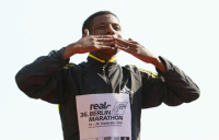 Haile last Marathon