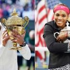 Top honour for Djokovic, Serena