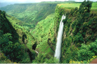 Simien Mountains Waterfall