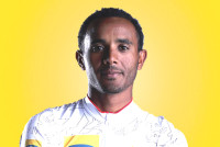 Tsgabu Grmay leading the African charge at Tour Down Under