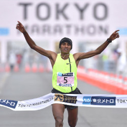 A double Ethiopian victory in the Tokyo Marathon