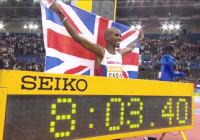 Farah 2 Mile Record