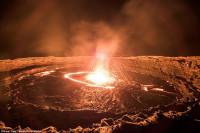 Erta Ale lava lake (Photo: Karel Tupi) -