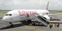 Ethiopian Airlines landing at Dublin Airport (Credit: Ethiopian Airlines) -