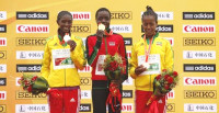 The top3 finishers (Getty Images) -