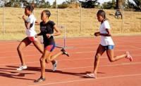 Ethiopian athletes are seen during training session at Trunesh Dibaba Sports Training Center in Arsi Zone, 180km southwest of Addis Ababa, Ethiopia on March 19, 2015. (Photo: Orhan Karslı - Anadolu Agency) -