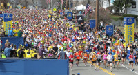 Boston Marathon (photo credit: http://fitmarkbags.com) -
