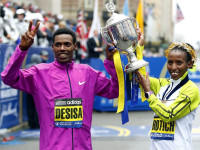 Desisa and Rotich (Photo: USA Today) -