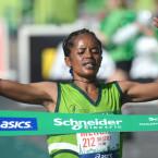 Meseret Mengistu wins Paris Marathon
