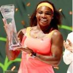 Serena, Djokovic top Tennis rankings