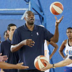 Mutombo talks to fans ahead of NBA Game in Africa